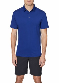 Hickey Freeman Men's Regular Fit Short Sleeve Golf Polo