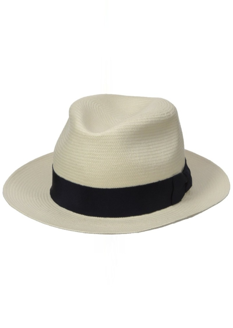 Hickey Freeman Men's Toyo Straw Fedora Hat