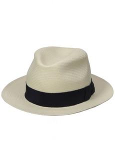 c7753ed2f3b32 Hickey Freeman Men s Toyo Straw Fedora Hat