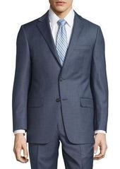 Hickey Freeman Milburn II Solid Two-Piece Suit