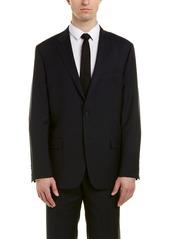 Hickey Freeman Milburn Ii Wool Suit