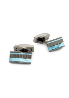 Hickey Freeman Mother-of-Pearl Cufflinks