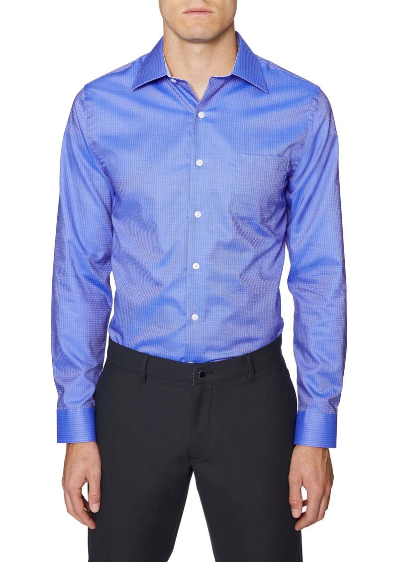 Hickey Freeman Regular Fit Button-Up Shirt
