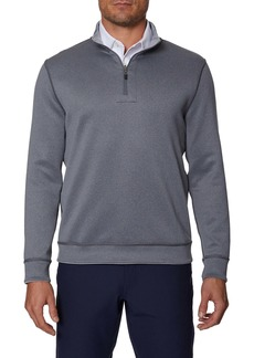 Hickey Freeman Reversible Half-Zip Pullover