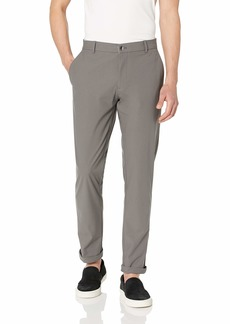 Hickey Freeman Silver Men's Stretch Commuter Pant