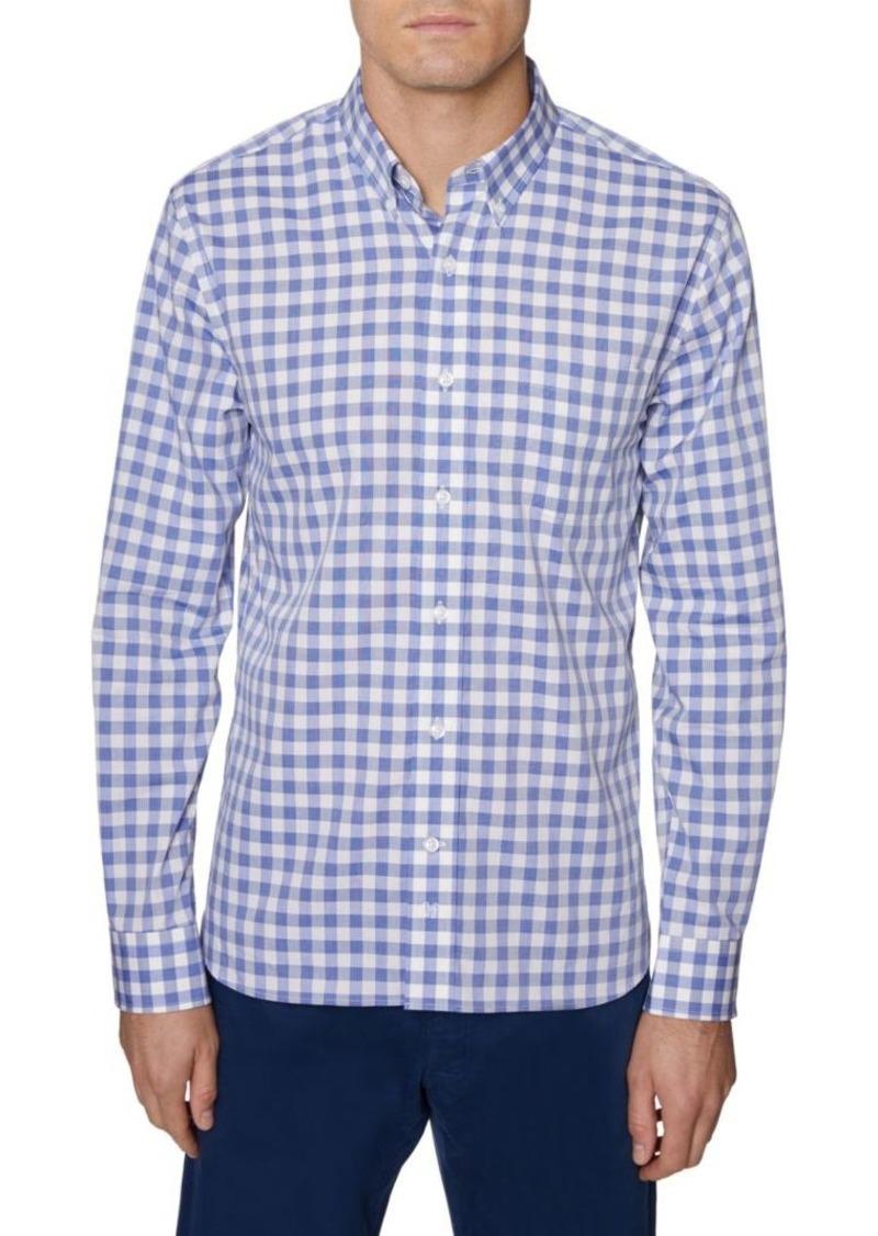 Hickey Freeman Stretch Gingham Shirt