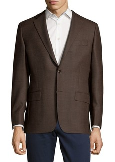 Hickey Freeman Textured Wool Jacket
