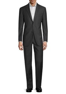 Hickey Freeman Lindsey Pinstripe Wool Suit