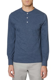 Hickey Freeman Long Sleeve Henley Shirt
