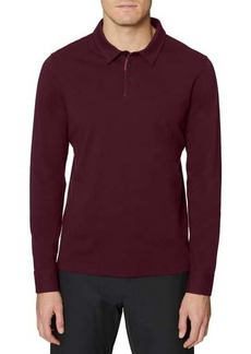 Hickey Freeman Long Sleeve Polo Shirt