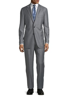 Hickey Freeman Men's Striped Two-Piece Suit