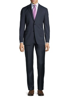 Hickey Freeman Men's Two-Piece Wool Suit