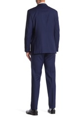 Hickey Freeman Micro Patterned Classic Fit Wool Suit