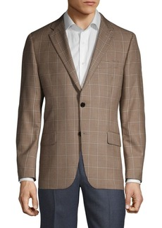 Hickey Freeman Milburn II Regular-Fit Wool & Silk Sportcoat