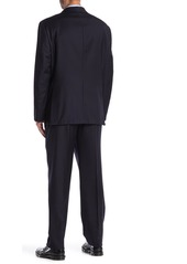 Hickey Freeman Milburn Notch Lapel Classic Fit Wool Suit