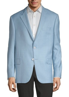 Hickey Freeman Milburn Wool & Silk Jacket