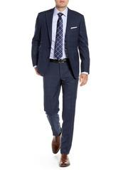 Hickey Freeman Modern H Fit Plaid Wool Suit