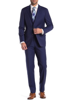 Hickey Freeman Pinstripe Classic Fit Wool Suit