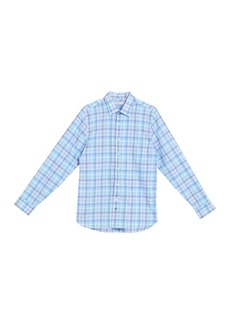 Hickey Freeman Plaid Christopher Shirt