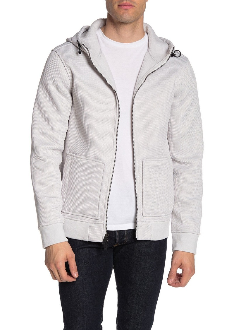 Hickey Freeman Tech Fleece Zip Up Hoodie