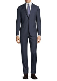 Hickey Freeman Two-Piece Wool Suit