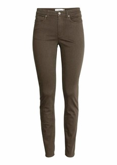 Ankle-length Slim-fit Pants