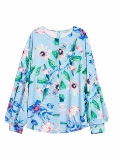 H&M H & M - Blouse - Light blue/floral - Women