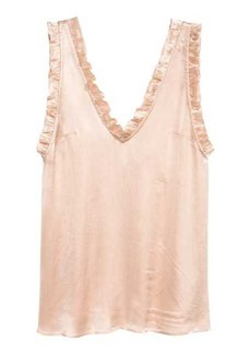 H&M Blouse with Flounce