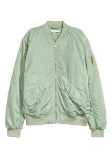 H&M Oversized Bomber Jacket