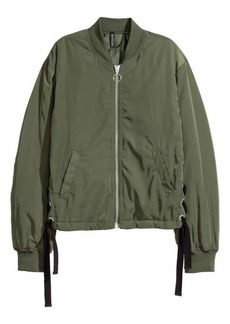 H&M Bomber Jacket with Lacing