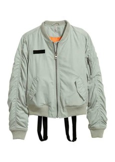 H&M Bomber Jacket with Suspenders