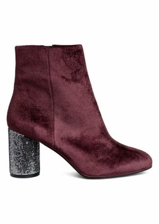 H&M Boots with Glittery Heels