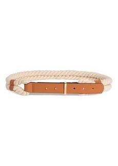 H&M Braided Waist Belt