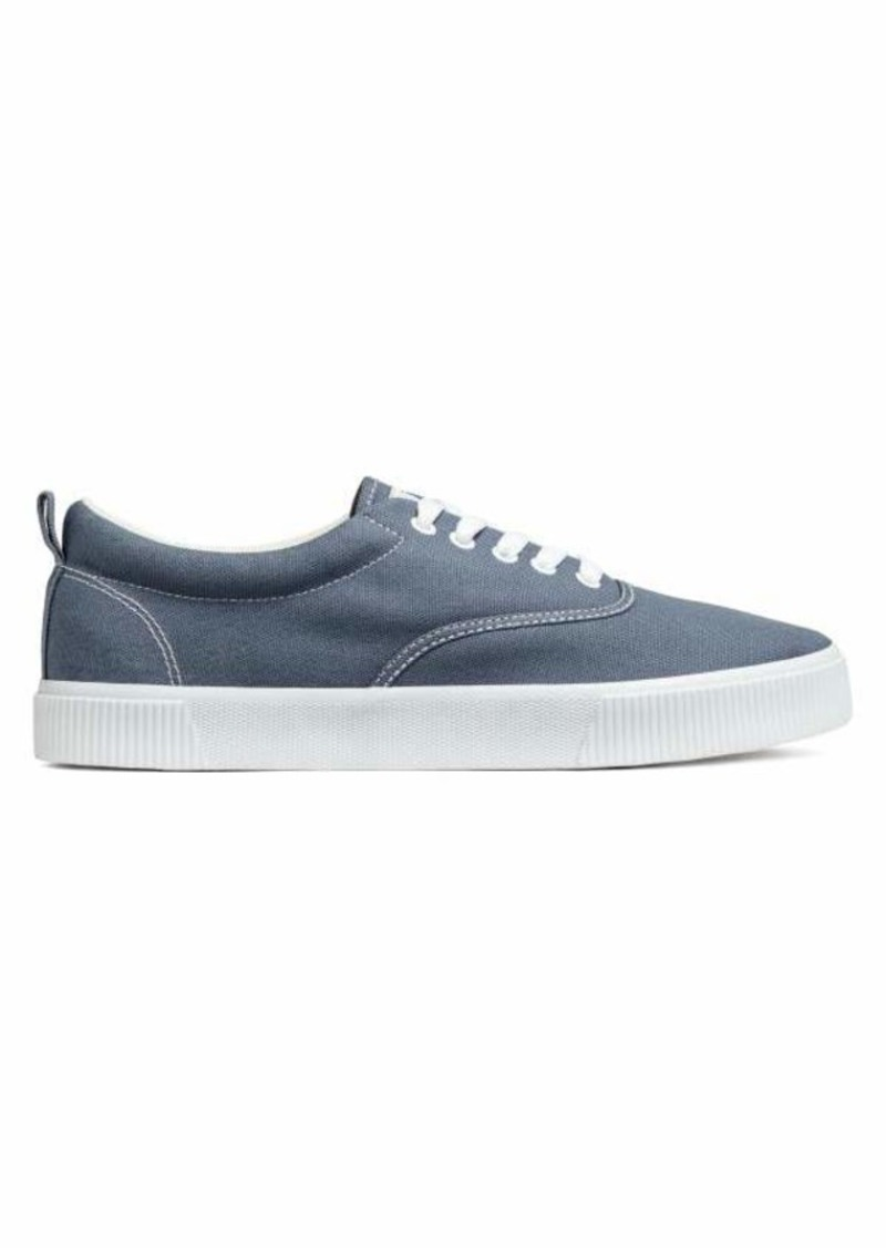562d94068fb3 H M H   M - Cotton Fabric Shoes - Blue-gray - Men