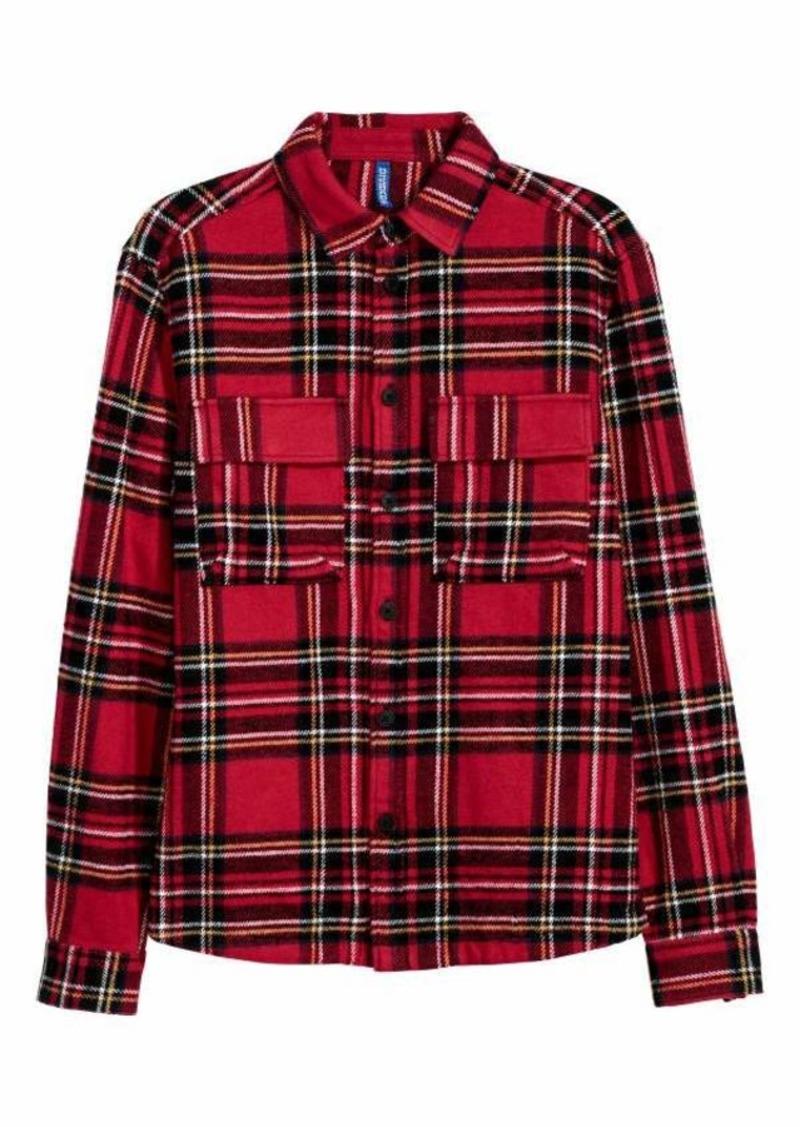 5c5ecd969 Cotton Twill Shirt Jacket