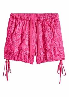 H&M Crinkled Nylon Shorts