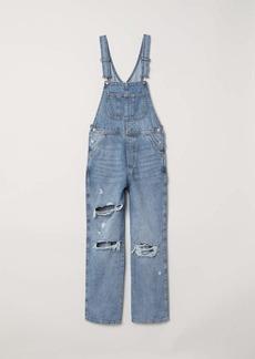 H&M H & M - Denim Bib Overalls - Denim blue - Women