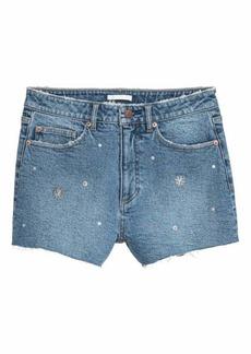 H&M Denim Shorts with Studs