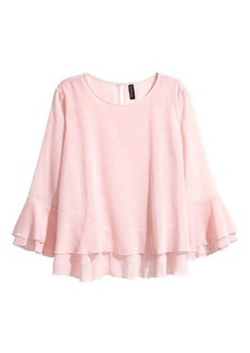 H&M Double-layered Blouse