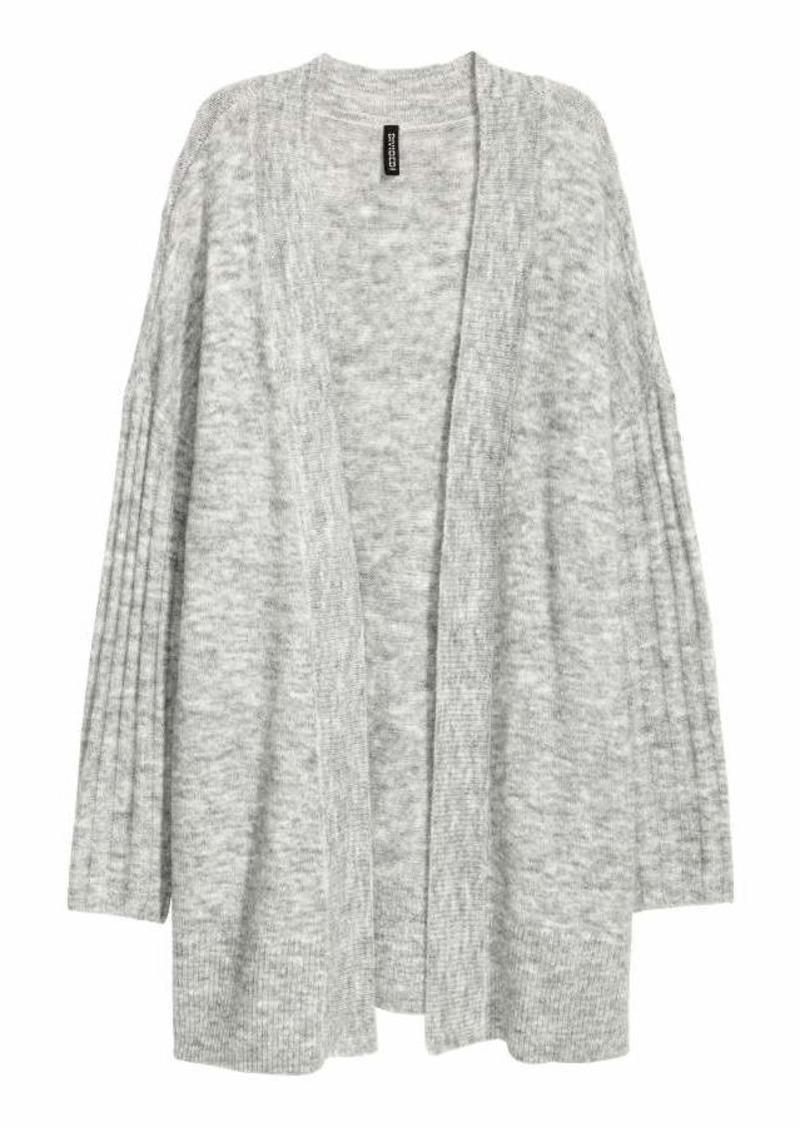 ea59b0f44 H M H   M - Fine-knit Cardigan - Light gray melange - Women