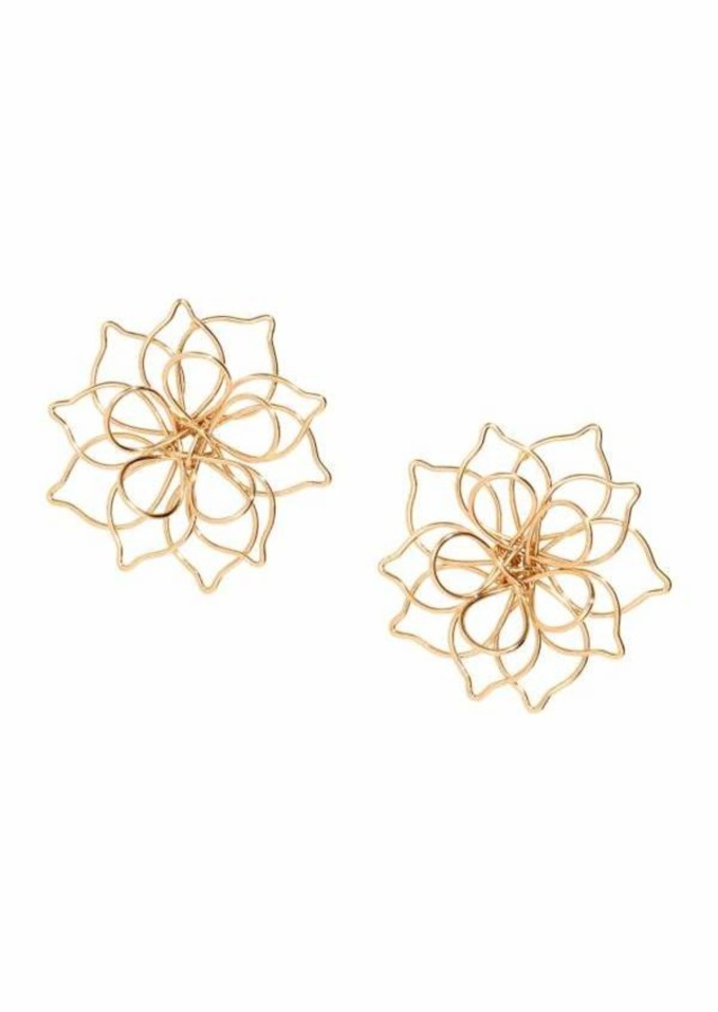 H M Flower Shaped Earrings