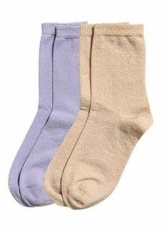 H&M Glittery Socks