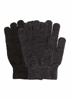 H&M H & M - 2-pack Gloves - Black/gray - Women