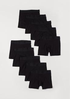 H&M H & M - 10-pack Boxer Shorts - Black