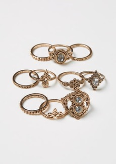 H&M H & M - 10-pack Rings - Gold