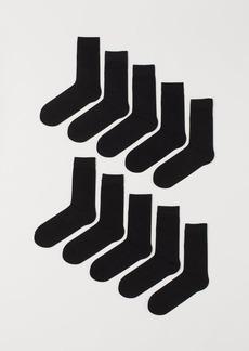 H&M H & M - 10-pack Socks - Black