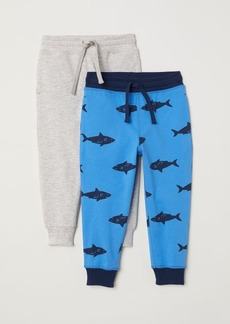 H&M H & M - 2-pack Joggers - Blue