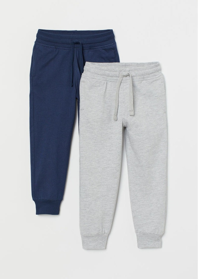 H&M H & M - 2-pack Joggers - Gray