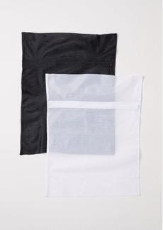 H&M H & M - 2-pack Mesh Laundry Bags - White