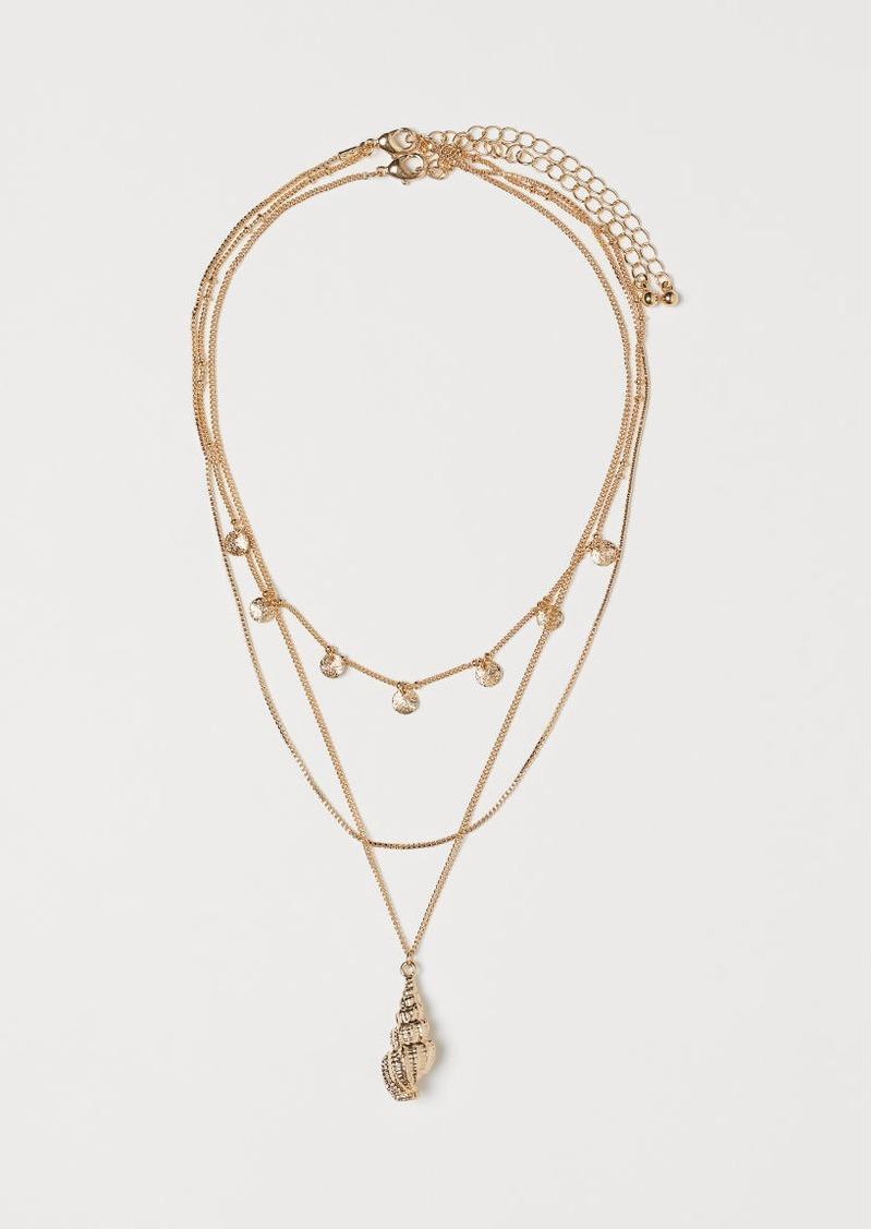 H&M H & M - 2-pack Necklaces - Gold